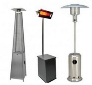 Dubai civil defence approved Outdoor Heaters Gas and Electrical to rent