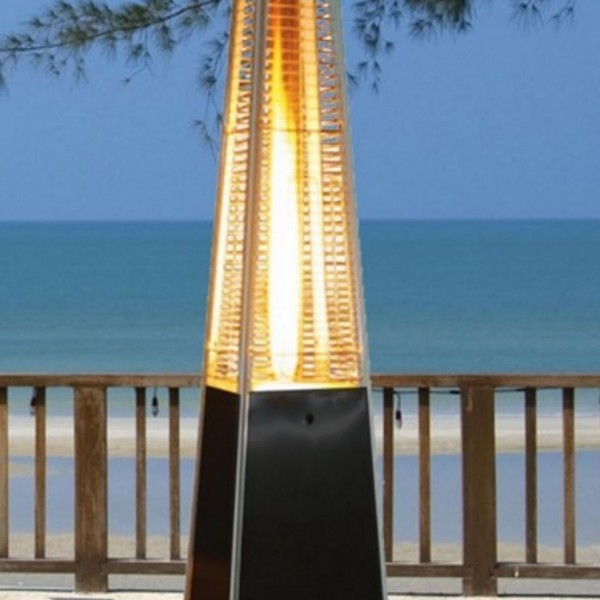 Pyramid outdoor gas heater